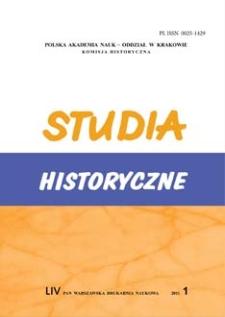 Studia Historyczne