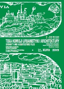 Teka Komisji Urbanistyki i Architektury Oddziału Polskiej Akademii Nauk w Krakowie
