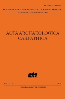Acta Archaeologica Carpathica